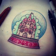 these bright snow globe tattoos these bright snow globe tattoos are the homes of and