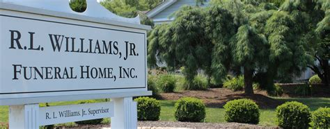 home r l williams jr funeral home inc proudly