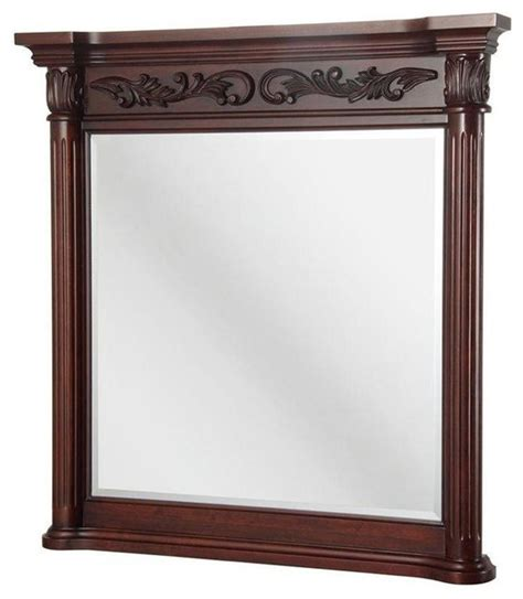 Pegasus Bathroom Mirrors Pegasus Estates 38 In X 36 In Wall Mirror In Rich