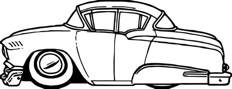 cartoon car coloring page vintage antique cartoon car coloring page wecoloringpage