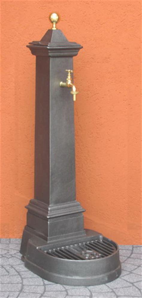 fontana a colonna da giardino fontana da giardino alluminio mini punta ottone 1018