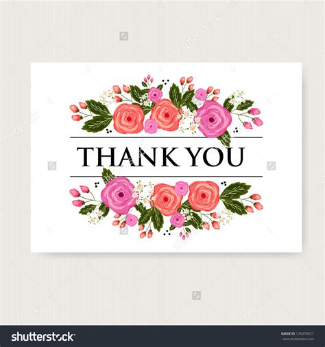 beautiful thank you cards thank you card flowers flowers ideas