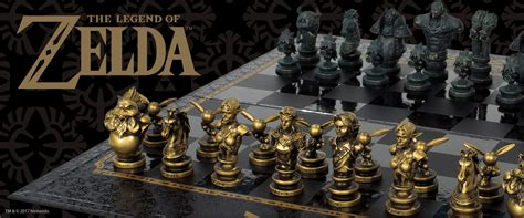 Fantasy Chess Set Link Vs Ganondorf The Legend Of Zelda Chess Set Is