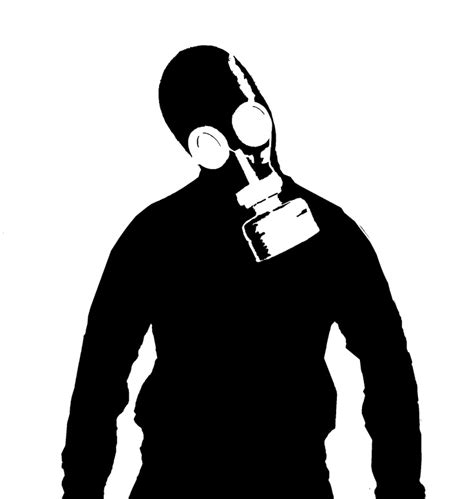 gas mask template 17 best images about black white drawing 2 on