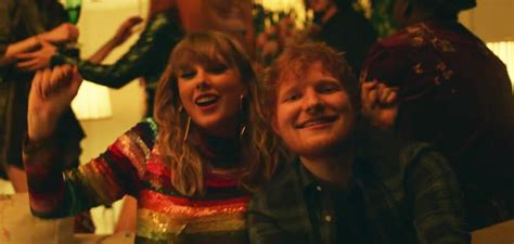 ed sheeran end game reactions to taylor swift and ed sheeran in quot end game