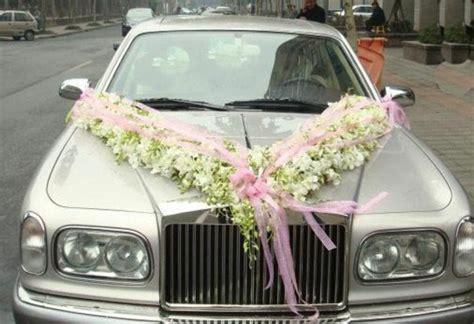 Hochzeitsschmuck Auto Blumen by 36 Coole Ideen F 252 R Autoschmuck Zur Hochzeit Archzine Net