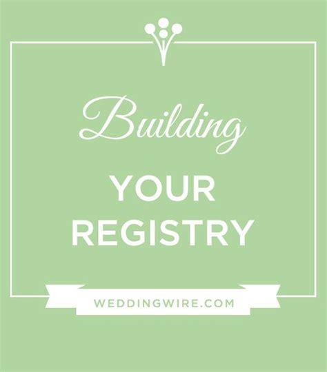 25  best ideas about Wedding Gift Registry on Pinterest