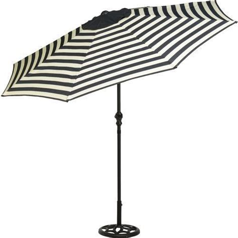 Black And White Patio Umbrella Black And White Patio Umbrella Patio Umbrella 9 Foot Steel Market Tilt Black And White Table H