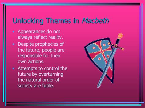 unlocking themes in macbeth unlocking themes in macbeth presentation english