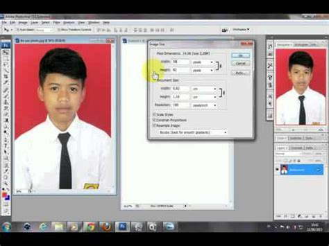 cara membuat alis dengan photoshop cs3 cara membuat pas photo 2x3 dengan photoshop cs3 youtube