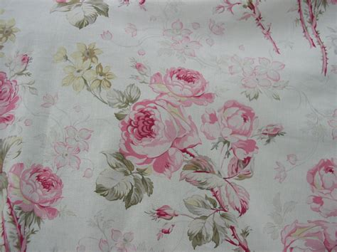 cabbage rose upholstery fabric american folk fabric summer rose upholstery cotton pink