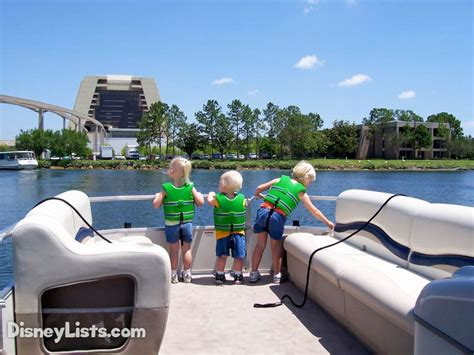 pontoon boat rental disney 6 things to know about disney world boat rentals