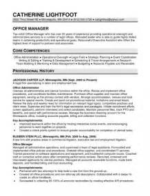 Resume Objectives Examples by Core Competencies Examples Resume Best Resume Gallery