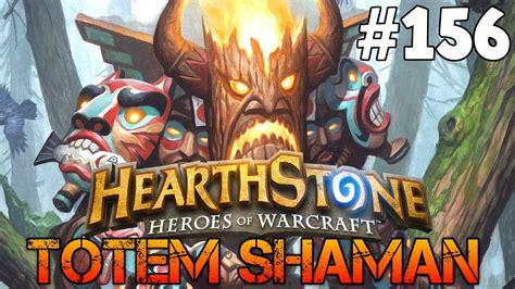hearthstone shaman totem deck hearthstone totem shaman deck gameplay 156 german let s