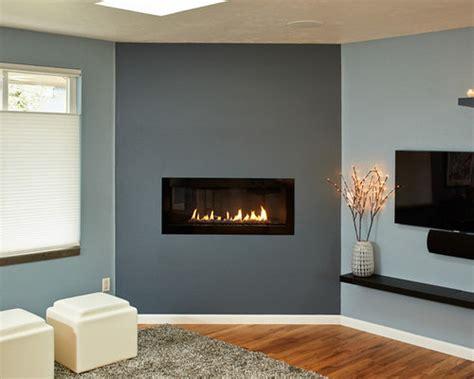 slate blue living room