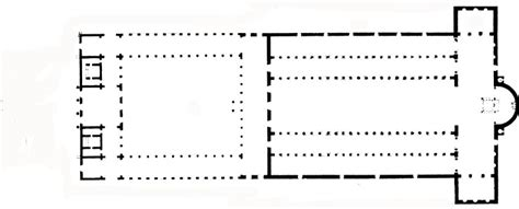 roman basilica floor plan basilica