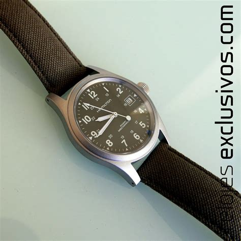 Hamilton Khaki Field Officer Mechanical H69419363   Relojes Exclusivos