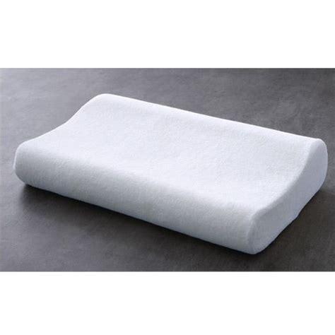 oreillers ergonomique oreiller rectangulaire ergonomique blanc oreiller