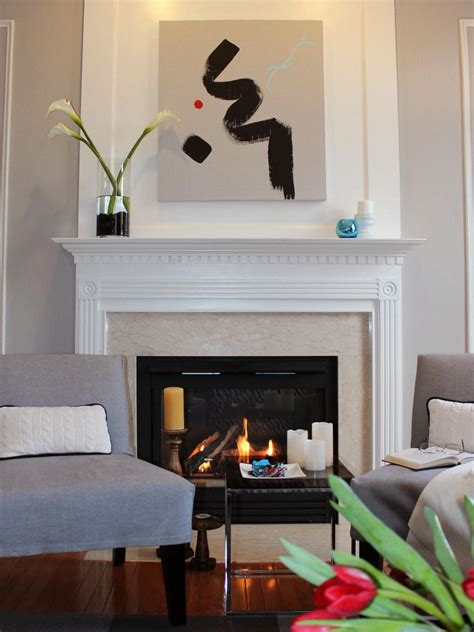 modern fireplace makeover before and after fireplace makeovers hgtv