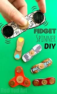 how to make a fidget spinner diy red ted art s blog
