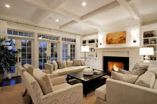 Luxury Cabin Plans by Living Room