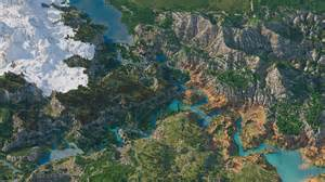 Minecraft World Painter Maps Download by Download Cinematic Custom Biome Terrain Map 4kx4k