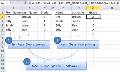 vlookup tutorial multiple values vlookup multiple values in multiple columns my online