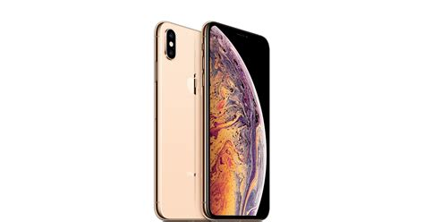iphone xs max gb gold apple