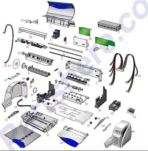 hp laptop parts diagram c2693 67028 hp printer parts and toner at partshere