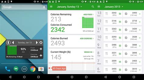calorie counter app android 10 best android diet apps and android nutrition apps