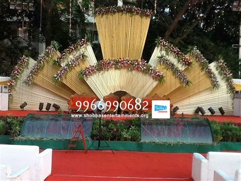 Marriage Stage Flower Decoration by Wedding Stage Flower And Reception Stage Decorations In