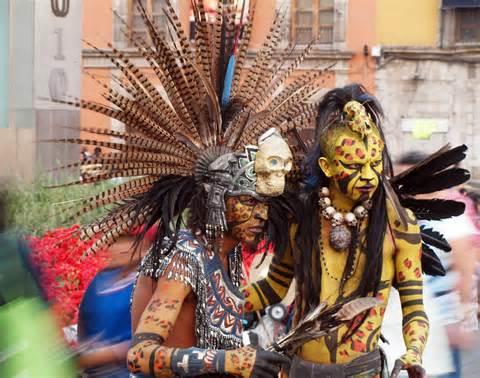 Aztec Headdress For Sale Image Mag