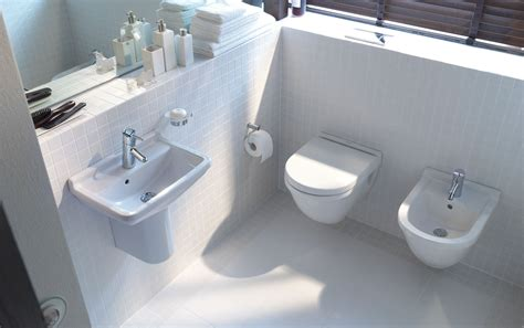 bidet und wc nebeneinander sanitari sospesi e salvaspazio cose di casa