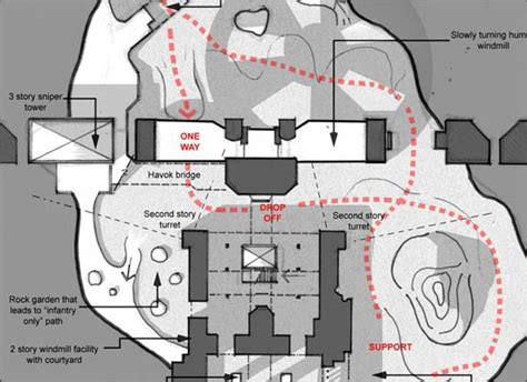 game level design layout brutally basic
