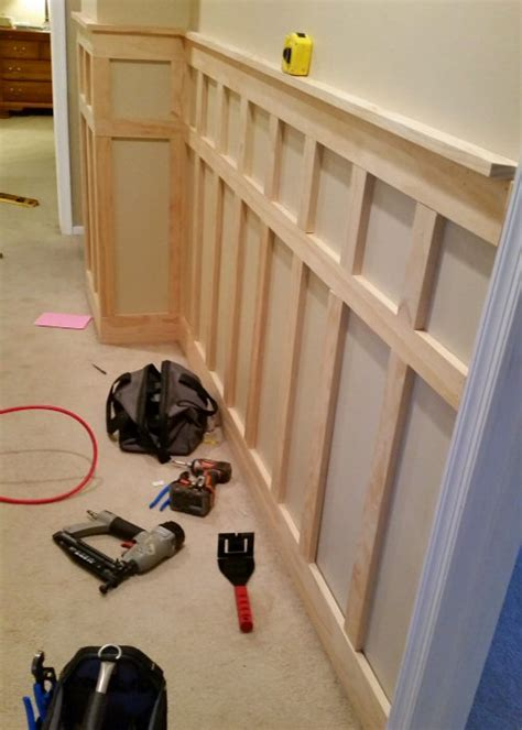 How To Install Wainscoting Trim How To Install Board And Batten Wainscoting White Painted