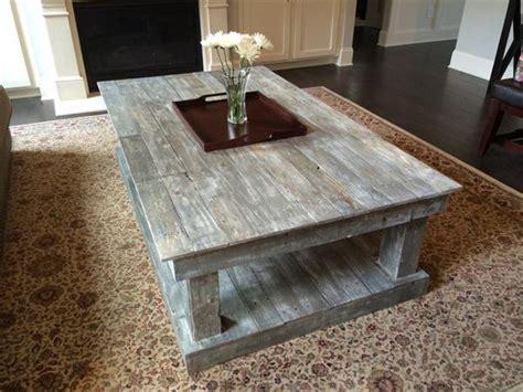 table basse en palette 50 id 233 es originales