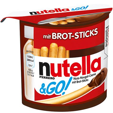 Nutella Go Nutella Go nutella go 52g kaufen im world of shop