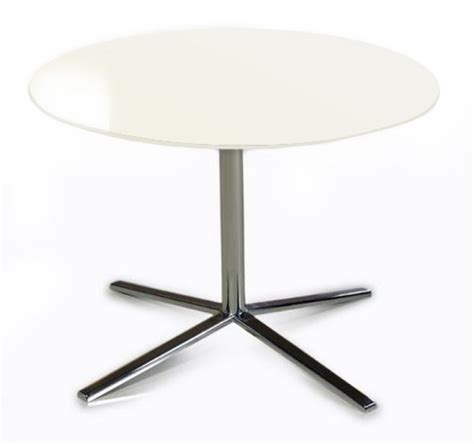 Modern White End Table by T48 Modern White End Table