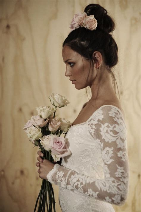 trend alert top knot hair styles for your wedding for both brides and grooms