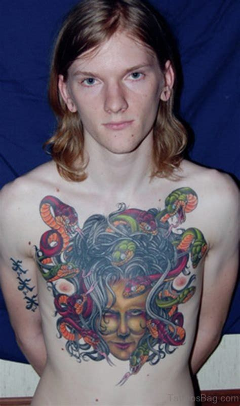 medusa chest tattoo 70 brilliant chest tattoos