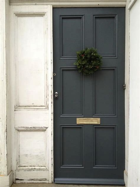 front door paint colours dark grey front door paint colour down pipe by farrow and