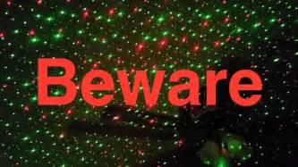 update star shower laser christmas lights beware youtube