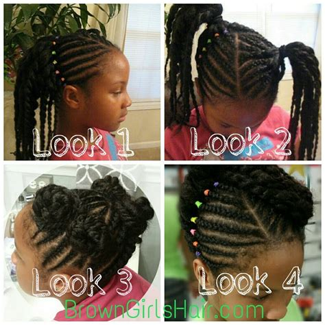 Haitian Beautiful Hairstyles For Adults by Braids 1 Hairstyle With 4 Looks
