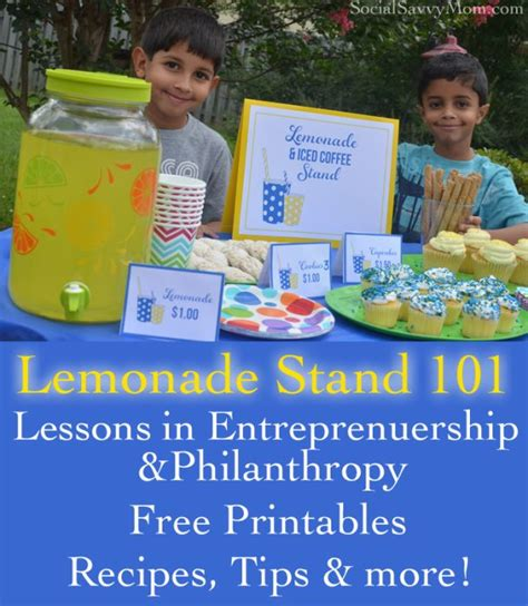 lessons from a lemonade stand an unconventional guide to government books lemonade stand lessons free printables my keep