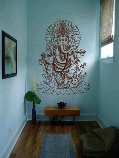 ik wall decal sticker room decor wall art mural indian