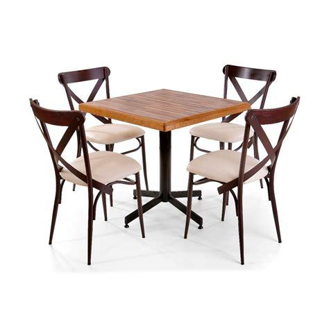 mesas y sillas cing mesa de madera con sillas para restaurante bar cafeter 237 a