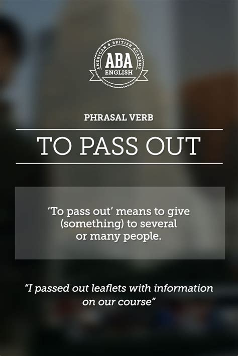 Americans Give And A Pass by 57 Best Phrasal Verbs Images On