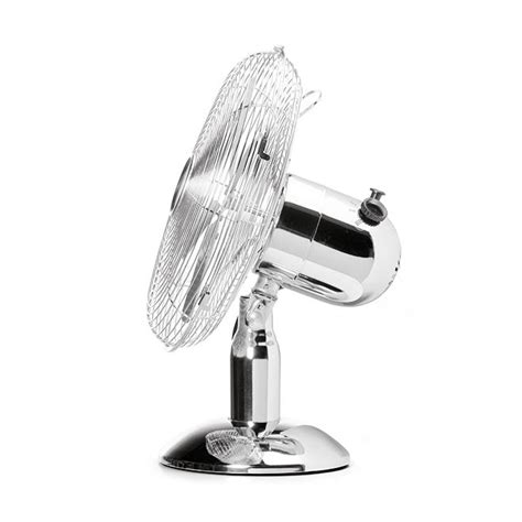 12 inch desk fan 12 inch chrome metal 3 speed desk fan oscillating 163 36 99