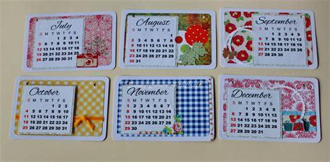 Calendar Handmade - 2016 handmade desk calendar floral calendar teachers