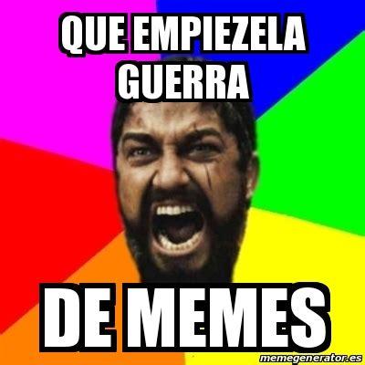 De Meme - meme sparta que empiezela guerra de memes 18125456